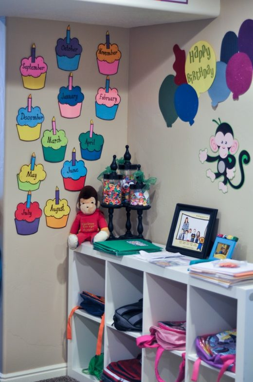 birthday wall